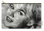 Carroll Baker Vintage Hollywood Actress Carry-all Pouch