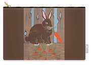 Carrot Top Rabbit Carry-all Pouch