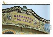 Carrousel De Paris Carry-all Pouch