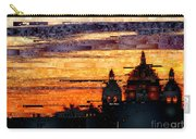 Cartagena Colombia Night Skyline Carry-all Pouch