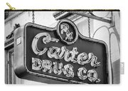 Carter Drug Co - Bw Carry-all Pouch
