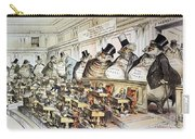 Cartoon: Anti-trust, 1889 Carry-all Pouch