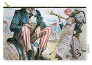 Cartoon: Uncle Sam, 1893 Carry-all Pouch
