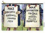 Cartoon: U.s. Neutrality Carry-all Pouch