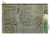 Carved Danzantes Stone Carry-all Pouch