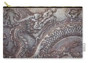 Carved Dragon Carry-all Pouch