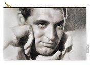 Cary Grant, Hollywood Legend By John Springfield Carry-all Pouch