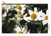 Cascade Of White Flowers Carry-all Pouch