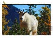 Cascade Range Mountain Goat Carry-all Pouch