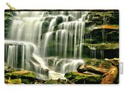 Cascades Of Erie Falls  Carry-all Pouch