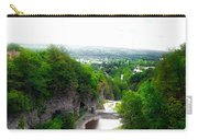 Cascadilla Gorge Cornell University Ithaca New York Panorama Carry-all Pouch