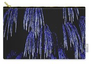 Cascading Fireworks Carry-all Pouch by DigiArt Diaries by Vicky B Fuller