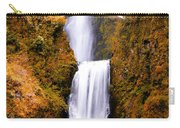 Cascading Gold Waterfall Carry-all Pouch