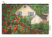 Cascading Roses Carry-all Pouch