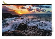 Cascading Water At Sunset Carry-all Pouch