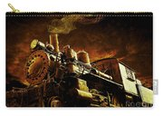 Casey Jones And The Cannonball Express Carry-all Pouch by Edward Fielding
