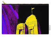 Casino Building In Yellow Carry-all Pouch