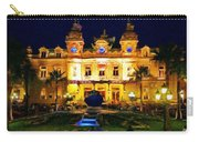 Casino Monte Carlo Carry-all Pouch by Jeff Kolker