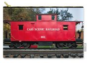Cass Red Caboose Carry-all Pouch