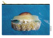 Cassiopeia Jellyfish Abstract Carry-all Pouch