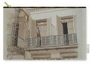 Cast Iron Balcony Rail Carry-all Pouch
