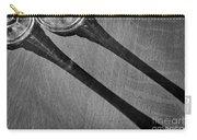 Casting Shadows Black And White Carry-all Pouch