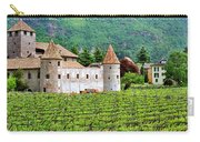 Castle And Vineyard In Italy Carry-all Pouch