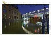Castle Bridge A By Night Bristol England Carry-all Pouch