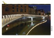 Castle Bridge D By Night Bristol England Carry-all Pouch