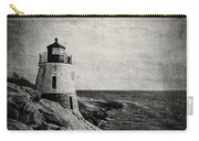 Castle Hill In Black And White Carry-all Pouch