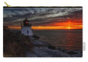 Castle Hill Lighthouse Sunset Carry-all Pouch