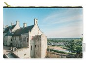 Castle In Chinon Carry-all Pouch