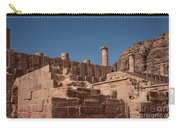 Castle In Petra Carry-all Pouch