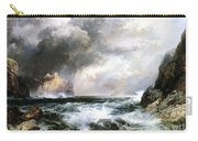 Castle In Scotland Carry-all Pouch by Thomas Moran