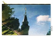 Castle In The Lake Carry-all Pouch