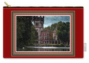 Castle Kapadia. L B With Decorative Ornate Printed Frame. Carry-all Pouch