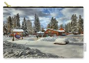 Castle Mountain Chalets Panorama Carry-all Pouch