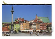Castle Square And Sigismund's Column Warsaw Poland Carry-all Pouch