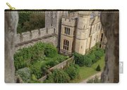 Castle Within A Frame Carry-all Pouch