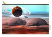 Castles In The Sand Carry-all Pouch by Corey Ford