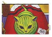 Cat - Alien Abduction Carry-all Pouch