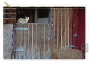 Cat And Barn Carry-all Pouch