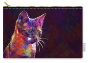 Cat Background Image Cute Red  Carry-all Pouch