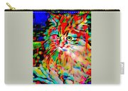 Cat By Fauvism Carry-all Pouch