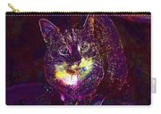 Cat Contemporary Design Brown  Carry-all Pouch