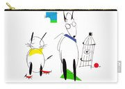 Cat, Dog, Hydrant Carry-all Pouch
