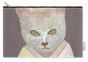 Cat In Kimono Carry-all Pouch