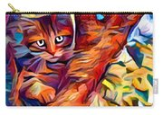 Cat In Tree Carry-all Pouch