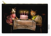 Cat - It's Our Birthday - 1914 Carry-all Pouch