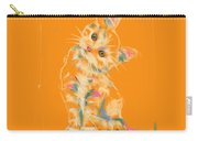 Cat Kitten Lou Carry-all Pouch